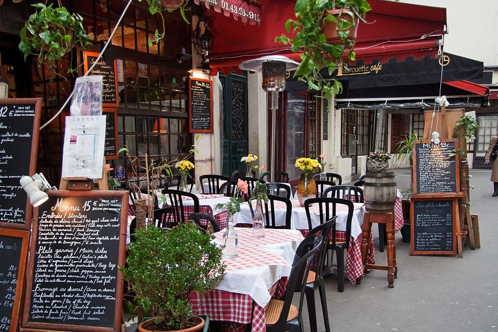 Carte De Restaurant Paris