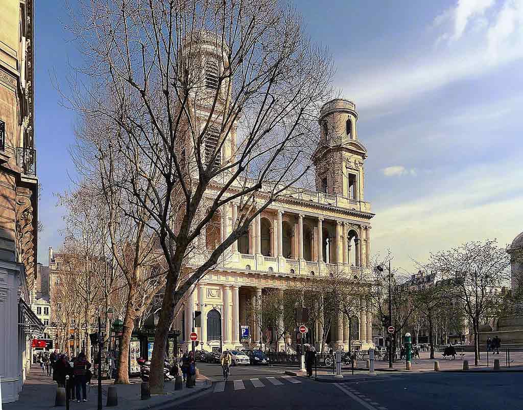 Saint Sulpice Da Vinci Code Paris