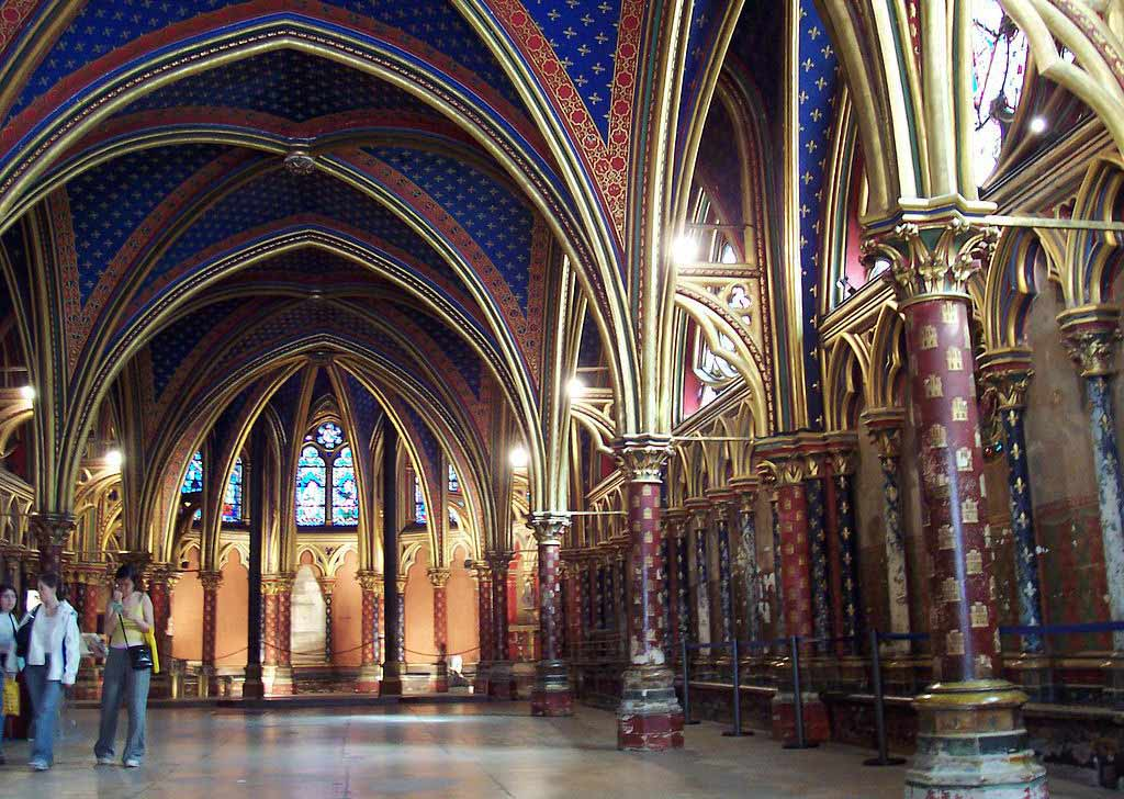 Sainte Chapelle Paris Innen