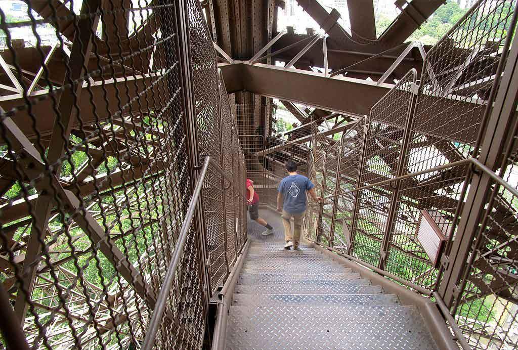 Treppen Eiffelturm Ohne Wartezeit Anstehen