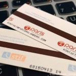 Businesscard Metroticket Paris