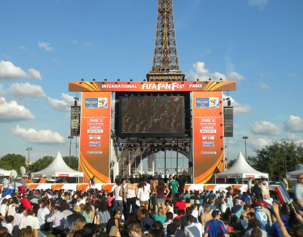 Public Viewing Paris EM2016