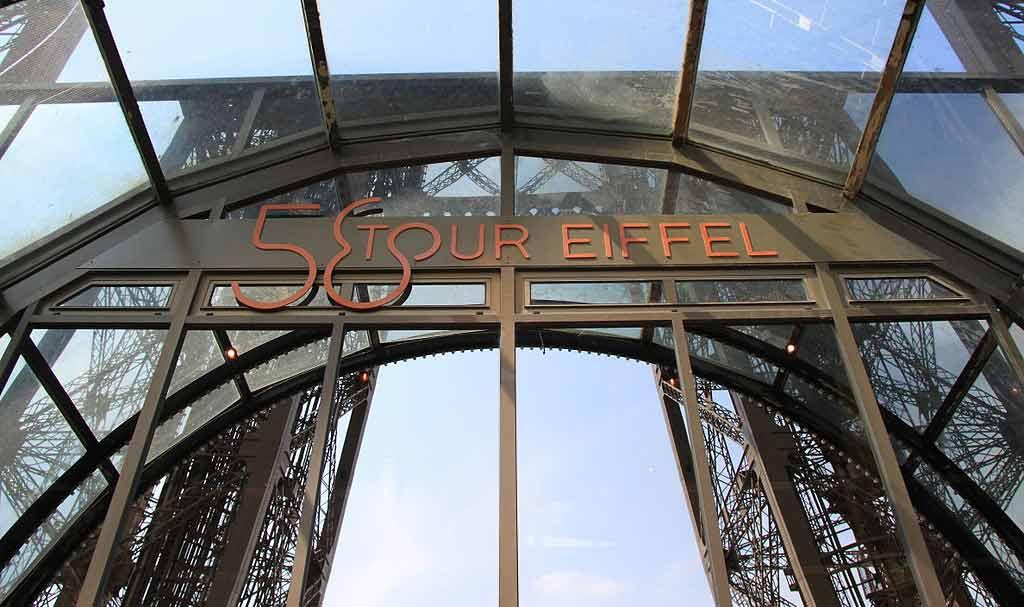 Restaurant auf dem Eiffelturm