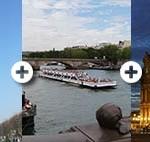 Ticket Eiffelturm Louvre Bootsfahrt