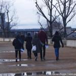 Unterschriftensammler Taschendiebe Eiffelturm