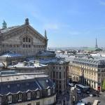 Ausblick Dachterrasse Galeries La Fayette