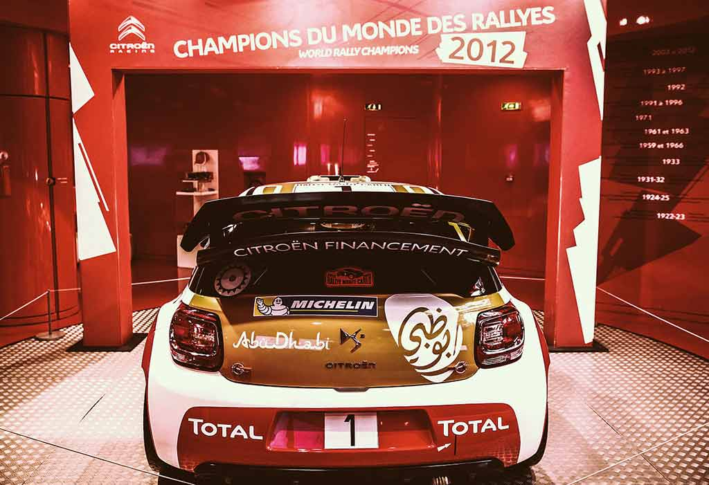Citroen Showroom Champs Elysees