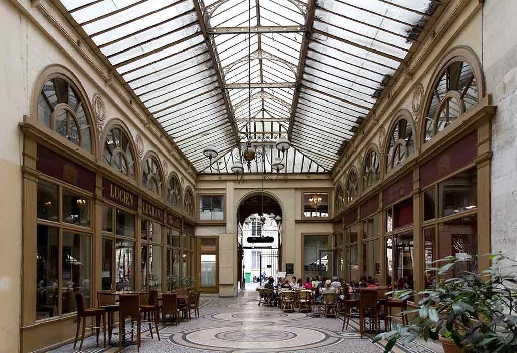 Uberdachte Passagen Paris Brady