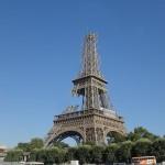 Eiffelturm Abbau