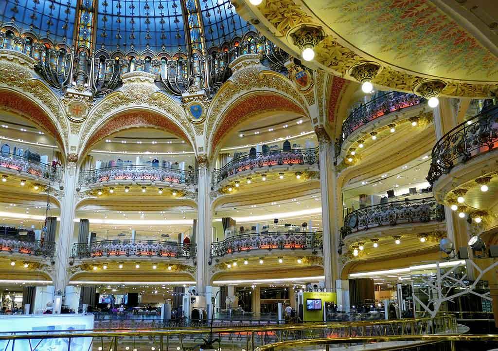 Galeries La Fayette in Paris