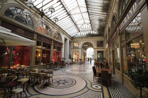 Passagen Paris Galerie Vivienne