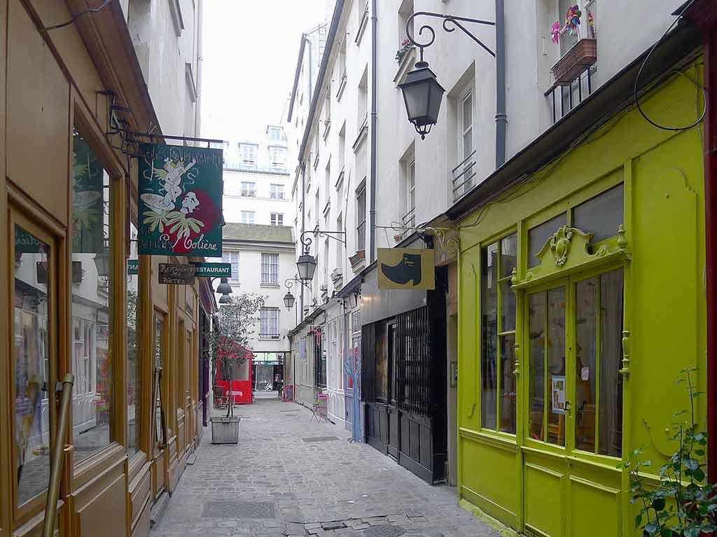 Passagen Paris Passage Moliere