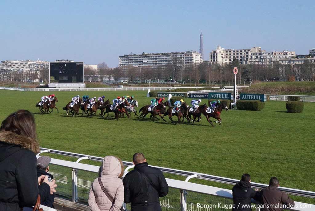 Pferderennbahn Paris Auteuil