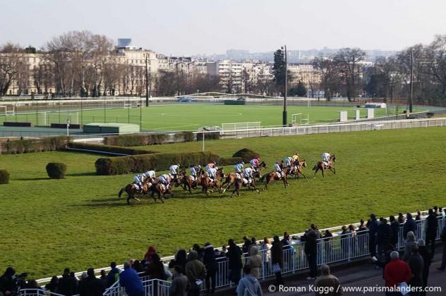 Pferderennen Auteuil Paris
