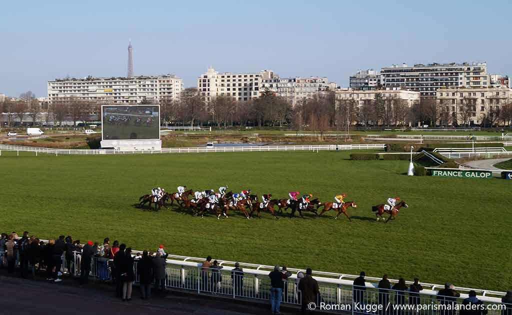 Pferderennbahn Paris