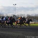 Rennen Pferde Vincennes