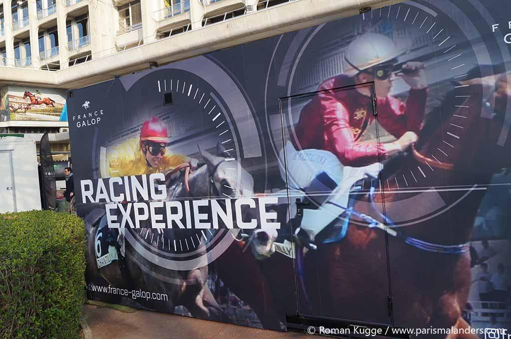 Rennsimulator Paris Pferderennen
