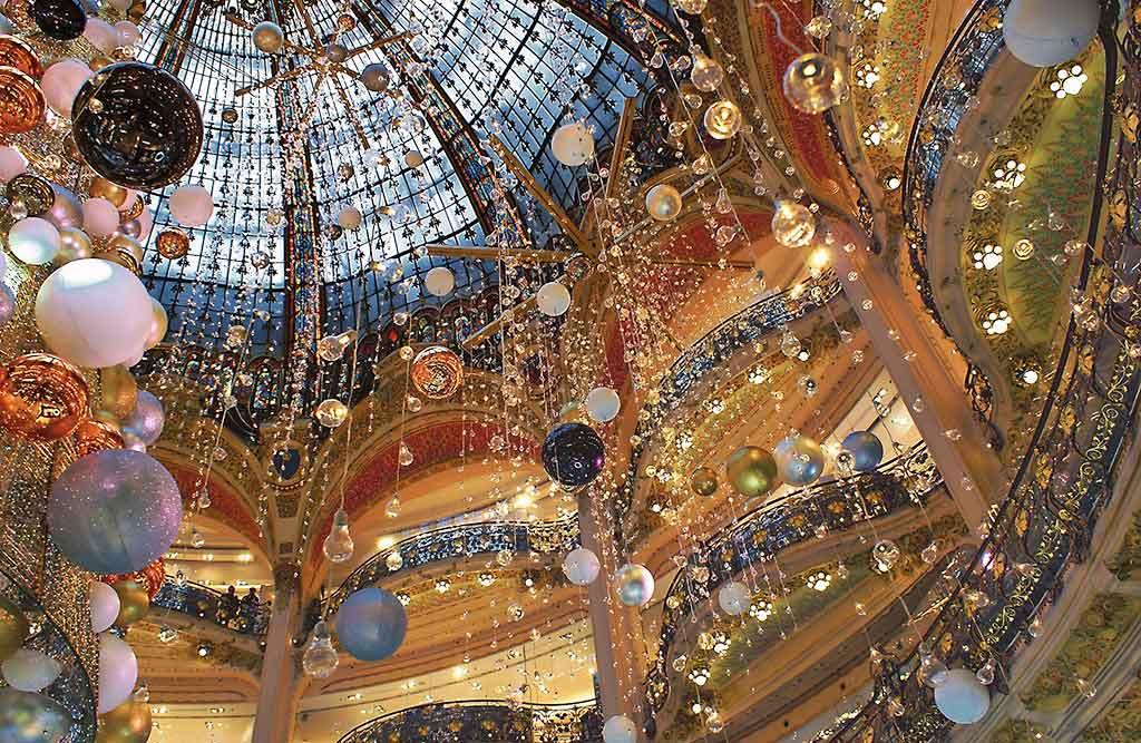 Weihnachten Galeries La Fayette