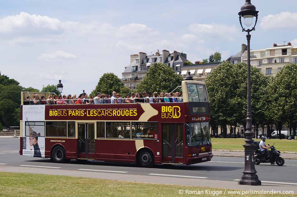 Big Bus Hop On Hop Off Paris Stadttouren