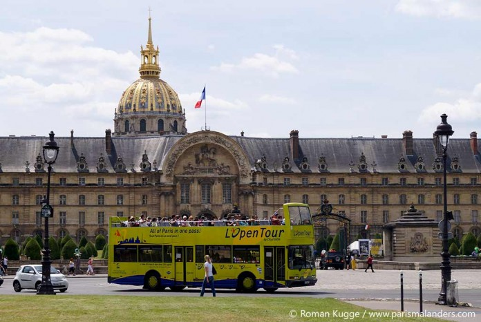 Hop On Hop Off Paris Bustouren Open Tour