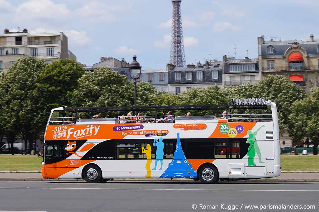 Hop On Hop Off Stadtrundfahrten Paris Foxity