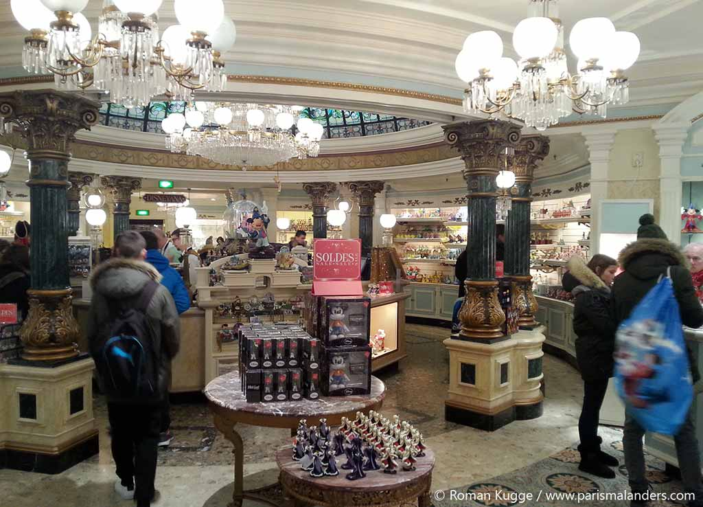 Souvenir Geschaeft Shop Disneyland Paris