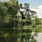Park Bois de Vincennes in Paris