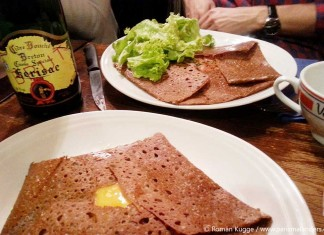Crepes essen in Paris