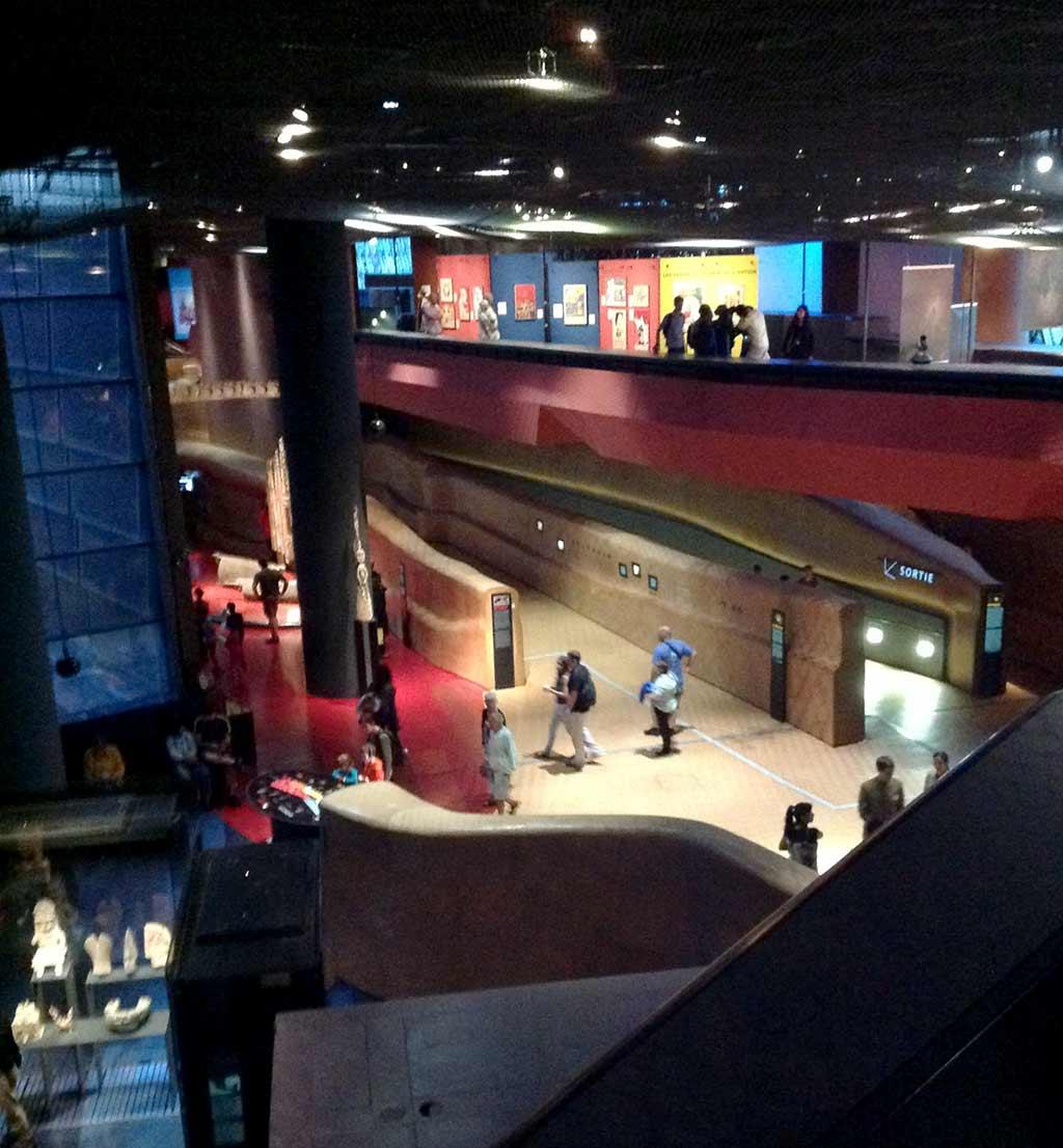 Galerie Quai Branly Museum