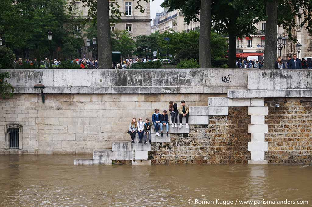 Hochwasser in Paris
