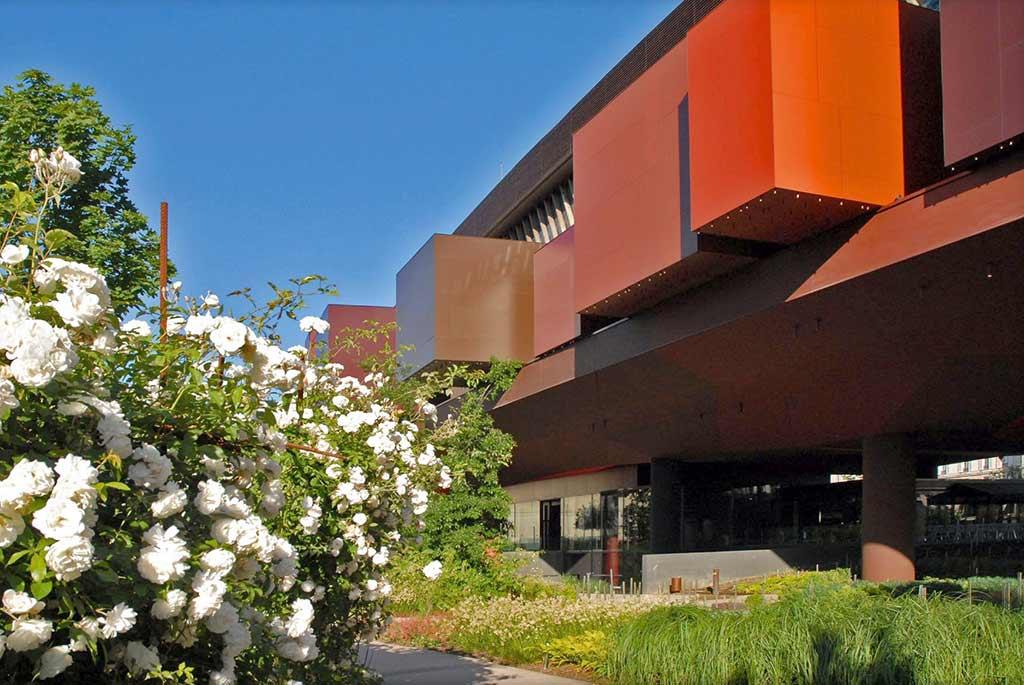 Quai Branly Museum Aussenansicht