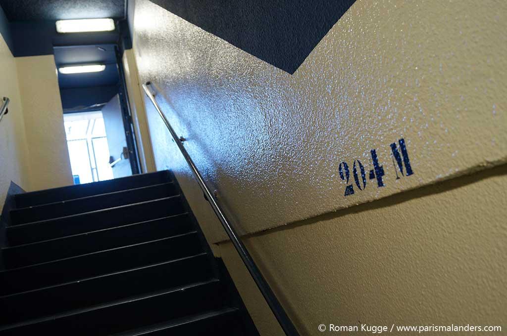 Rollstuhl Tour Montparnasse behindertengerecht Treppe Turm