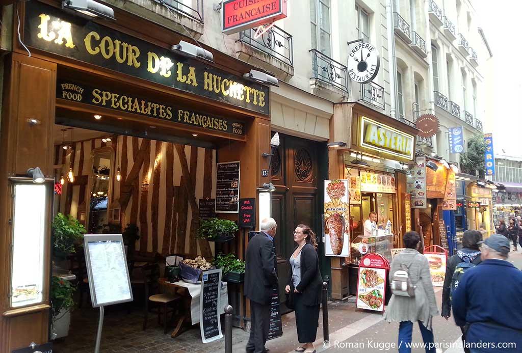 Saint Michel Touristenviertel Paris