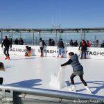 Schlittschuh laufen Eisbahn Tour Montparnasse