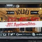 Sommerschlussverkauf in Paris Citadium