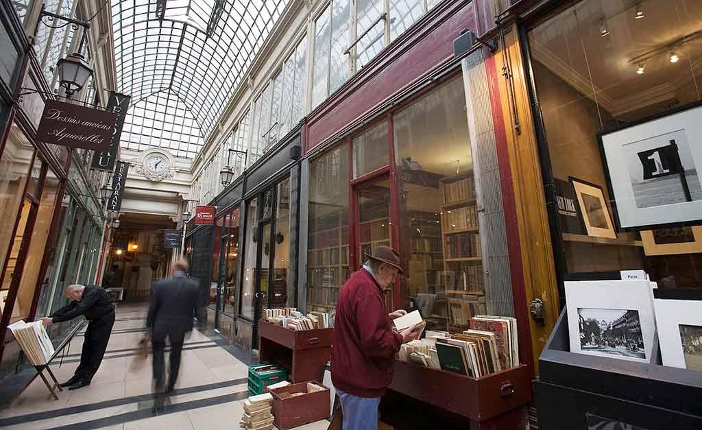 Troedelmarkt Paris die Passagen