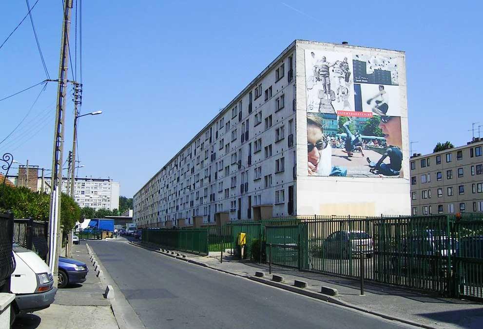 Vorstadt Paris