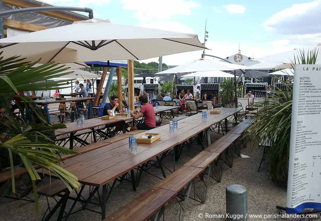 Beachbar Paris Quai de la Gare