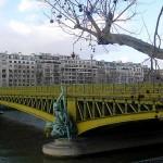 Brücke Pont Mirabeau Paris