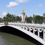 Brücke Pont Alexandre III in Paris