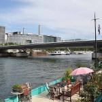 Brücke Pont Charles de Gaulle in Paris