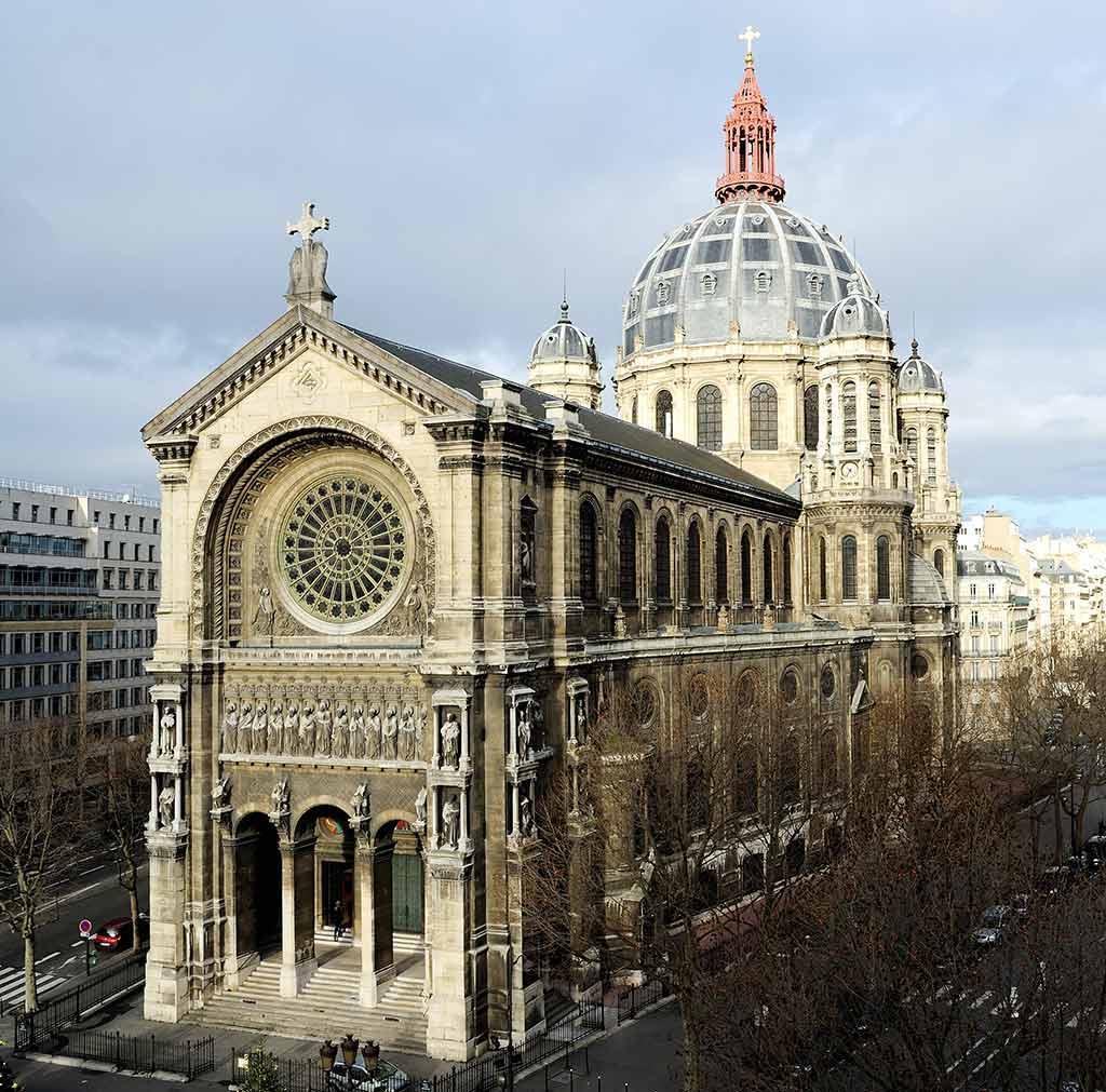 Die schoenste Kirche von Paris Saint Augustin
