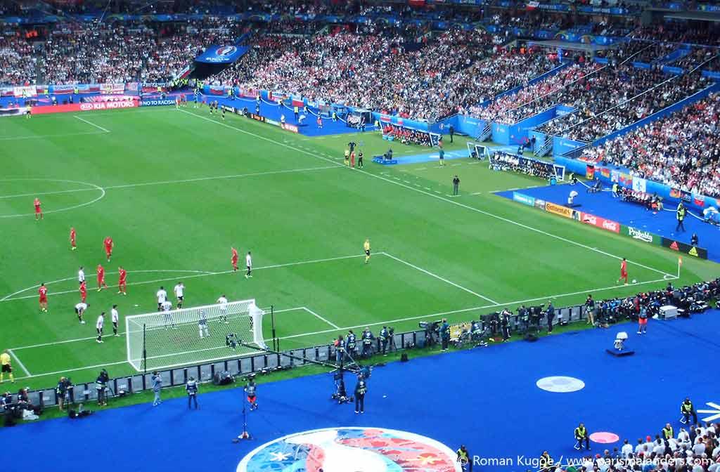 EM2016 Paris Deutschland Polen Sportevent