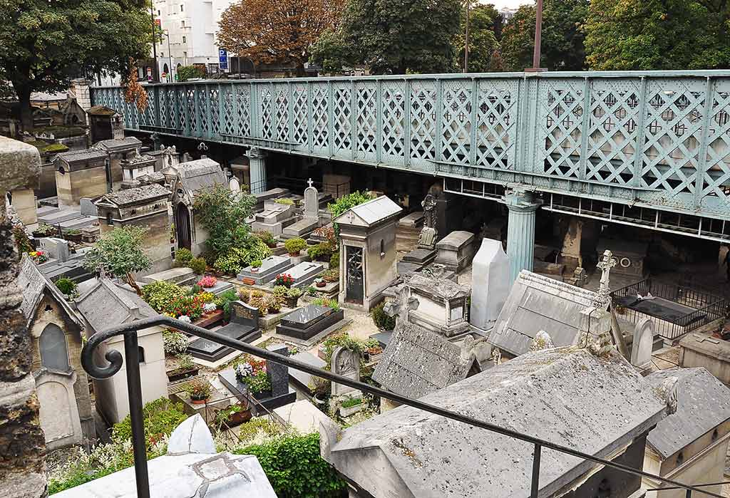 Friedhof Paris Montmartre
