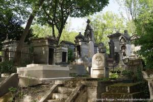 Friedhof Paris Pere Lachaise