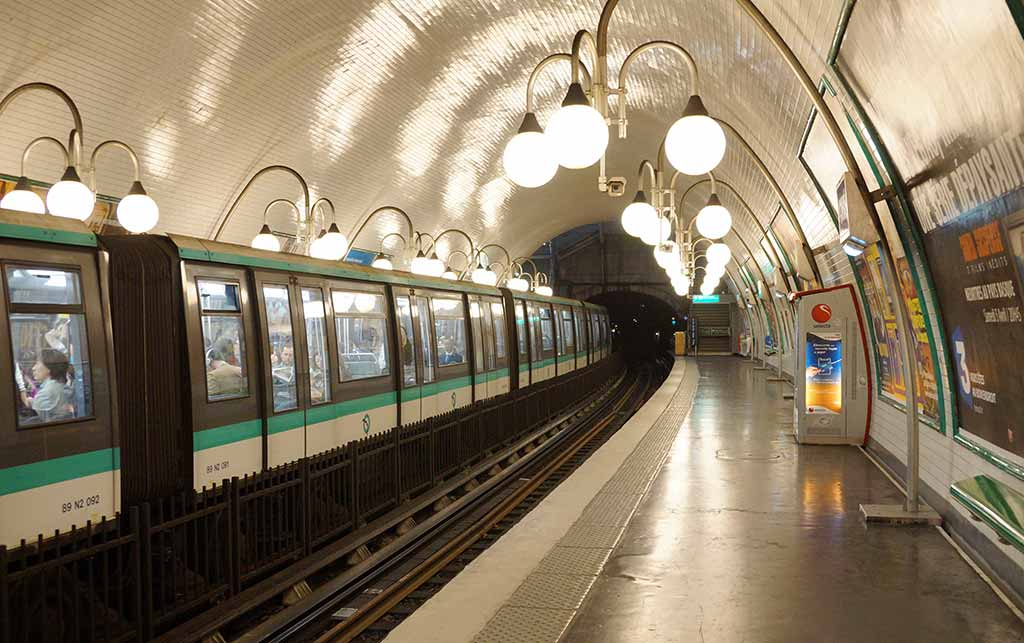 Metrostation Cite Paris