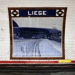 Metrostation Liege Paris