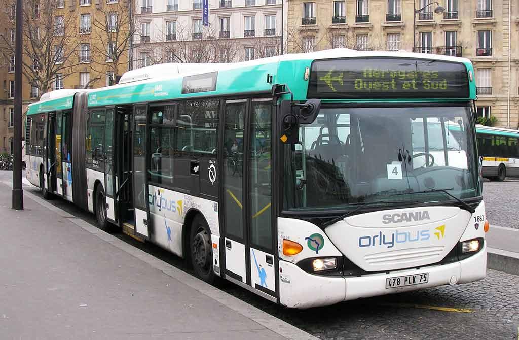 Orlybus Flughafentransfer Paris