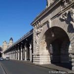 Paris Brücke Pont de Bir Hakeim
