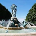 Paris Brunnen Quatre Parties du Monde